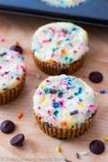 Funfetti cheesecake cookie cups