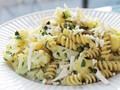 Fusilli with broccoflower, olives, and herbs from 'The New Vegetarian Cooking For Everyone' (Cook the Book)