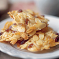 Ginger and almond Florentines