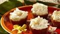 Ginger-coconut cream tarts