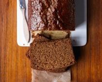 Ginger golden syrup loaf