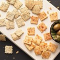 Gluten-free almond flour crackers
