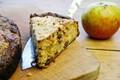 Gluten-free apple and Medjool date cake