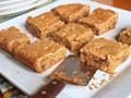 Gluten-free browned butter chocolate chip cookie bars