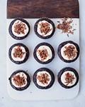 Gluten-free chocolate chile cakes