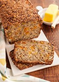 Gluten-free granola toasting bread