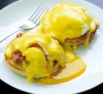 Gordon's eggs Benedict