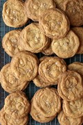 Grapefruit white chocolate brown butter cookies