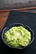 Green mashed potatoes