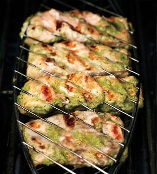 Green shawarma salmon from Bon Appétit Magazine, July 2011: The ...
