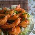 Happy shrimp stir fry