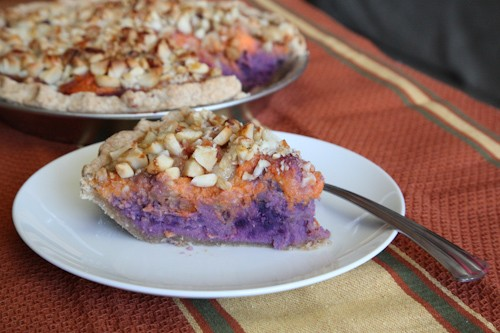 Hawaiian style sweet potato pie, featuring American orange yams and ...