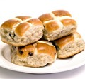 Healtheries delicious gluten-free hot cross buns