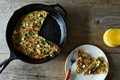Herb, feta, and quinoa-filled frittata