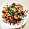 Herbed shrimp and white bean salad