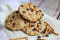 High energy peanut butter breakfast cookies
