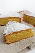 Holiday almond cake