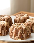 Honey apple mini bundt cakelets