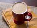 Hot Mexican corn drink with peanut flavor (Peanut atole)