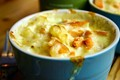 Hot smoked trout mac n cheese