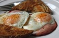 How to cook ham and eggs