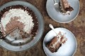 How to make no-churn ice cream cake (Chocolate meringue ice cream cake)