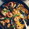 How to make the authentic Spanish paella from King West's Patria