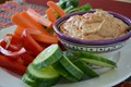 Hummus with almond butter