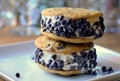 Ice cream sandwiches for chocolate chip cookie lovers