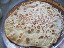 Indian breakfast (Alooparatha)