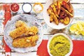 Indian fish & chips