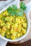 Indian scrambled eggs (Egg bhurji)