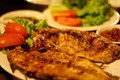 Indonesian grilled fish (Ikan bakar padang)