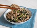 Italian seafood-salad pasta salad with Vietnamese noodles