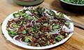 Jackson Pollock salad