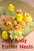 Jelly Belly jelly bean Easter nests
