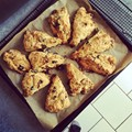 Julia Ziegler-Haynes' prune and caraway scones