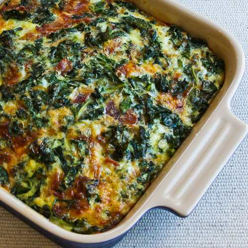 Kale, bacon, and cheese breakfast casserole recipe recipe | Eat Your ...