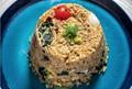Kale fried rice (Khao pad kale)