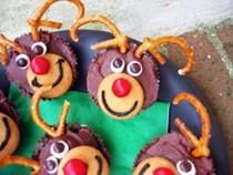 Katy's reindeer cupcakes