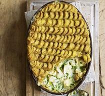 Kedgeree fish pie