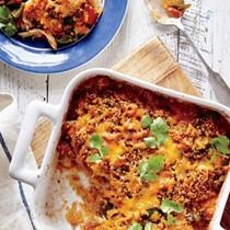 King Ranch chicken and quinoa casserole