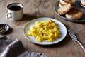 Lady & Pups' magic 15-second creamy scrambled eggs