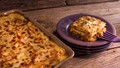 Lasagna with meat ragu