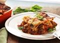 Lasagna with sausage, smoked cheese, and meatballs (Lasagna Napoletana)