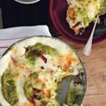 Lasagne with zucchini pesto, speck and scamorza (Lasagne con pesto di zucchine, speck e scamorza)