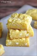 Lemon gooey bars