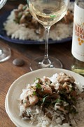 Lemon herb chicken Moscato