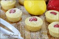 Lemon raspberry mini pancake muffins