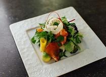 Lobster wa salad with yuzu dressing